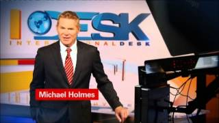 "CNN International: ""This is CNN"" promo - Michael Holmes"