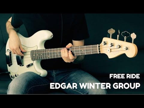 Edgar Winter Group - Free Ride - Bass Cover - Bruno Tauzin