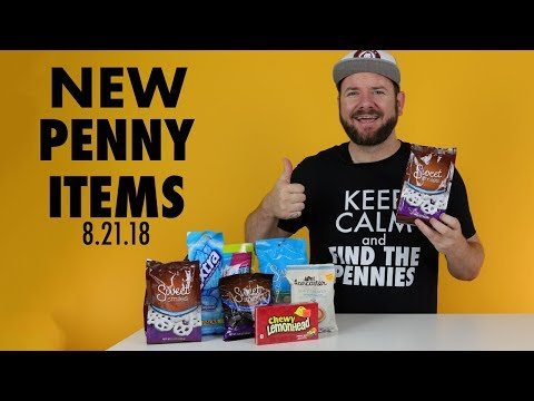 New Dollar General Penny Shopping List for August 21, 2018