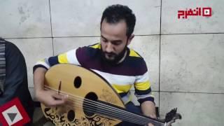 بالفيديو| أحمد ..الهندسة عشق وعزف العود «غية»