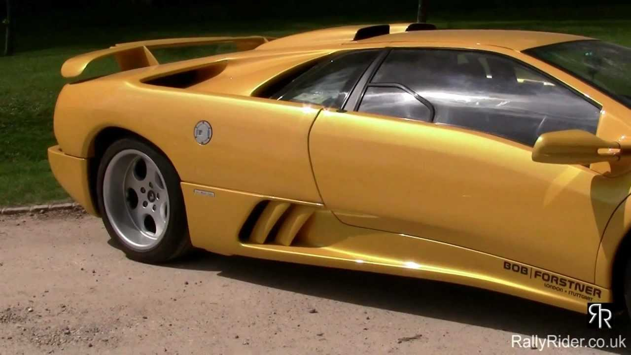 Lamborghini Diablo Se30 Giallo Yellow Walkaround Youtube
