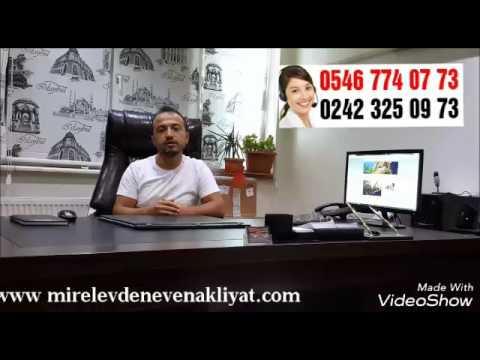 Antalya Evden Eve Nakliyat 05467740773