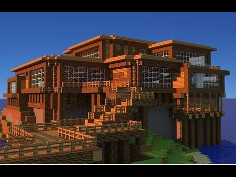 Minecraft Big Houses Design YouTube