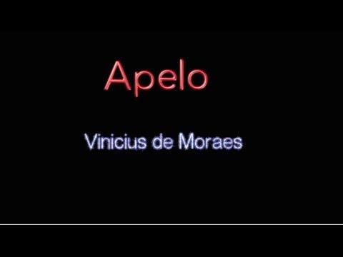 Apelo - Vinicius de Moraes
