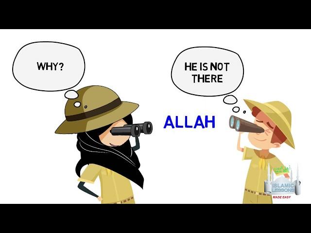 MADRASA - Why can't I see Allah - B7