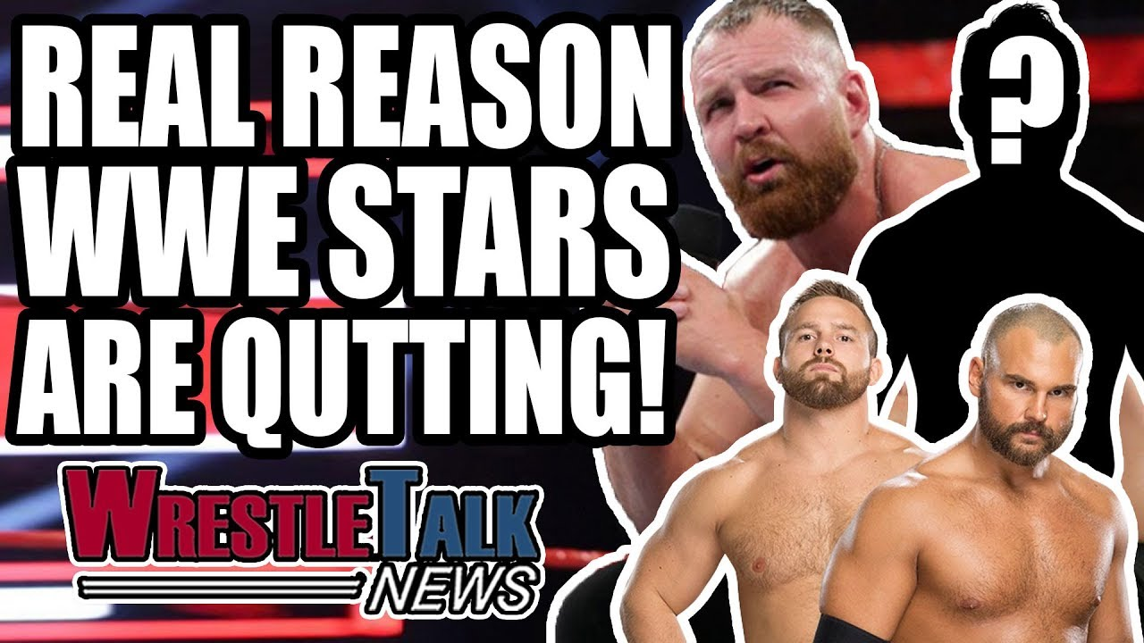 WHY WWE Stars Are QUITTING! ANOTHER WWE Star LEAVING! | WrestleTalk News Jan. 2019