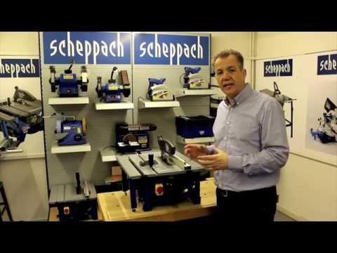 Стационарен циркуляр HS81S / Scheppach 5901311901 / 1500 W, 210 мм video