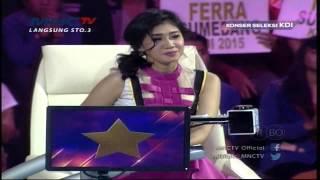 """Novita """" Tapin """" dan Ferra """" Sumedang """" Pemenang Konser Seleksi KDI 2015 (25/3)"""