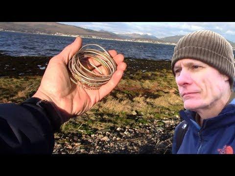 FALSE TREASURE: metal detecting, mudlarking, beach combing & relic hunting- a full day  at the beach