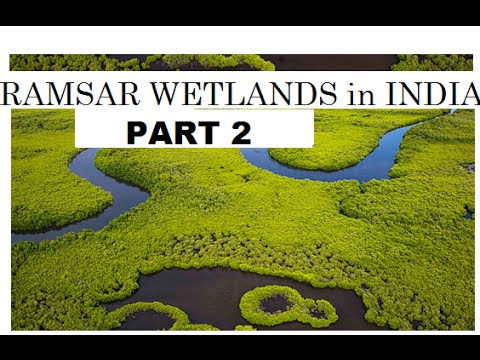 Trick to remember Ramsar wetland sites in India Part 2