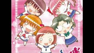 Saki ending Music: Netsuretsu Kangei Wonderland Artist: Kana Ueda, Ami Koshimizu, Rie Kugimiya, Ryoko Shiraishi and Shizuka Itou I do not own any of the ...