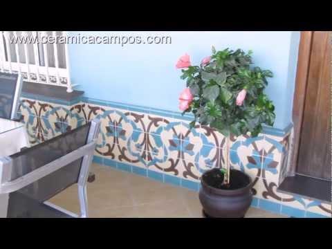Zócalos de azulejo estilo rústico   youtube