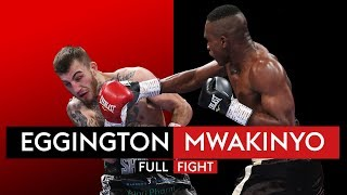 FULL FIGHT:  Sam Eggington suffers shock knockout defeat to Hassan Mwakinyo within two rounds