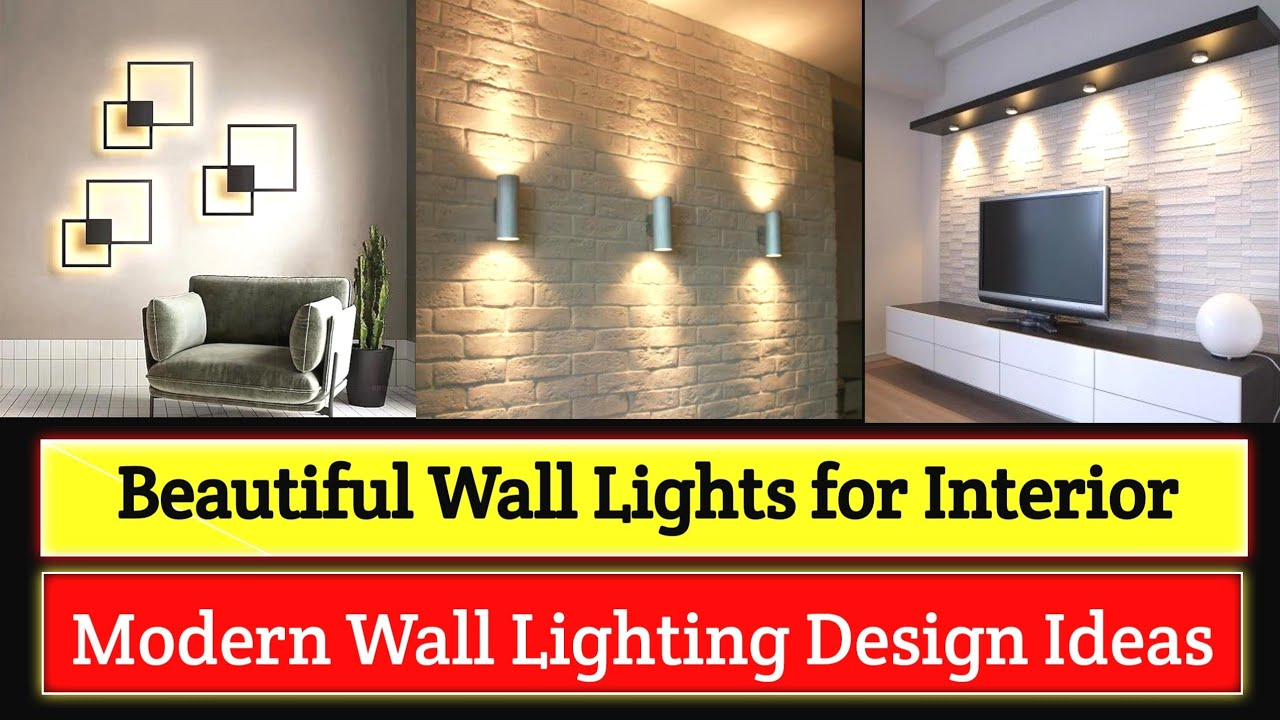 Modern Wall Lighting Ideas For Interior Design Wall Lights Design Ideas 2021 Interiorindori Youtube