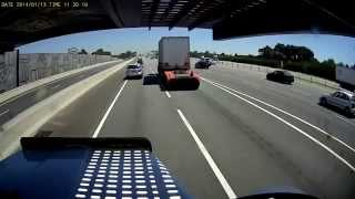 Truck loses trailer - Cars and Vehicles on Youtube