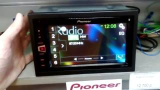Мультимедійна магнітола Pioneer mvh-av290bt