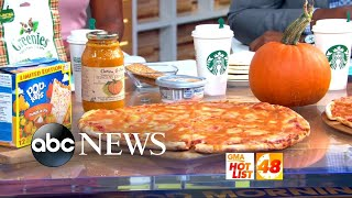 'GMA' Hot List: Some say pumpkin spice pizza is taking the obsession too far