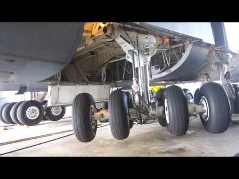 C-5 Galaxy Landing Gear Retraction/Extend
