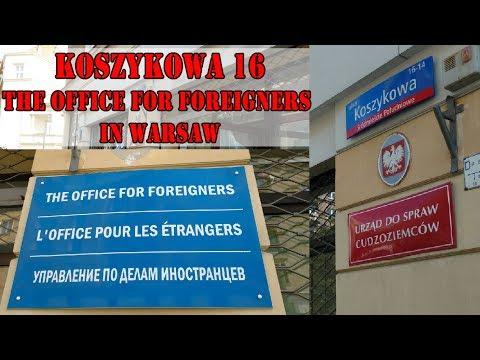 Office For Foreigners Koszykowa Street Warszawa