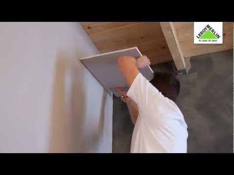 Come posare un controsoffitto in cartongesso su una struttura di ...