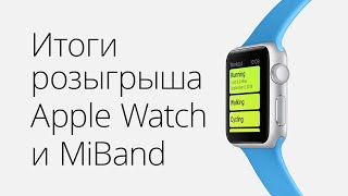 Итоги розыгрыша Apple Watch от AppleInsider.ru и what3words