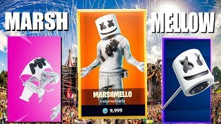 I BOUGHT THE SKIN FROM MARSHMELLOW FORTNITE