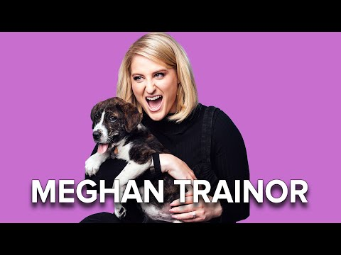 Meghan Trainor Plays With Puppies While Answering Fan Questions
