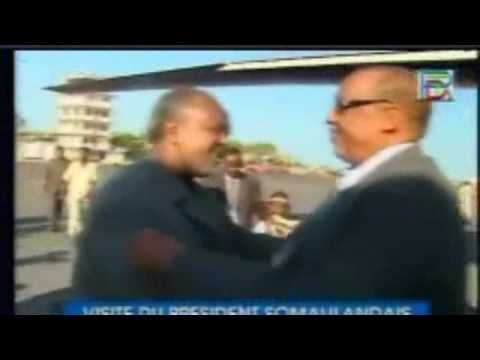 Somaliland President Ahmed Silanyo visit Djibouti his first foreign trip since taking office