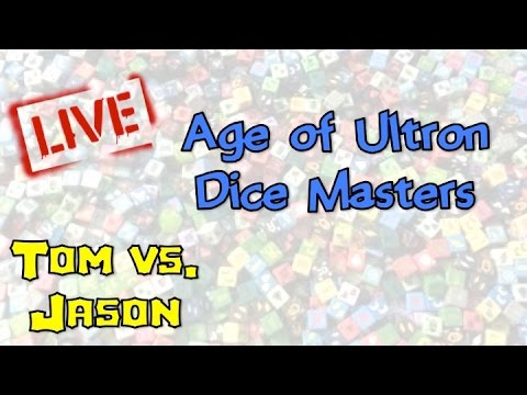 Dice Masters Age of Ultron: Live