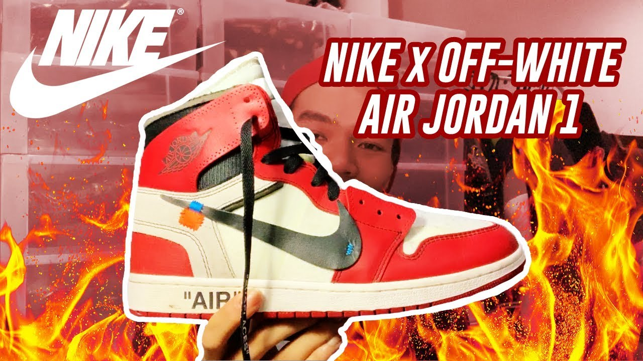 NIKE x OFF-White Air Jordan 1 \