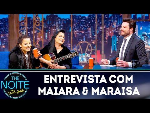 Entrevista com Maiara & Maraisa  The Noite 140319