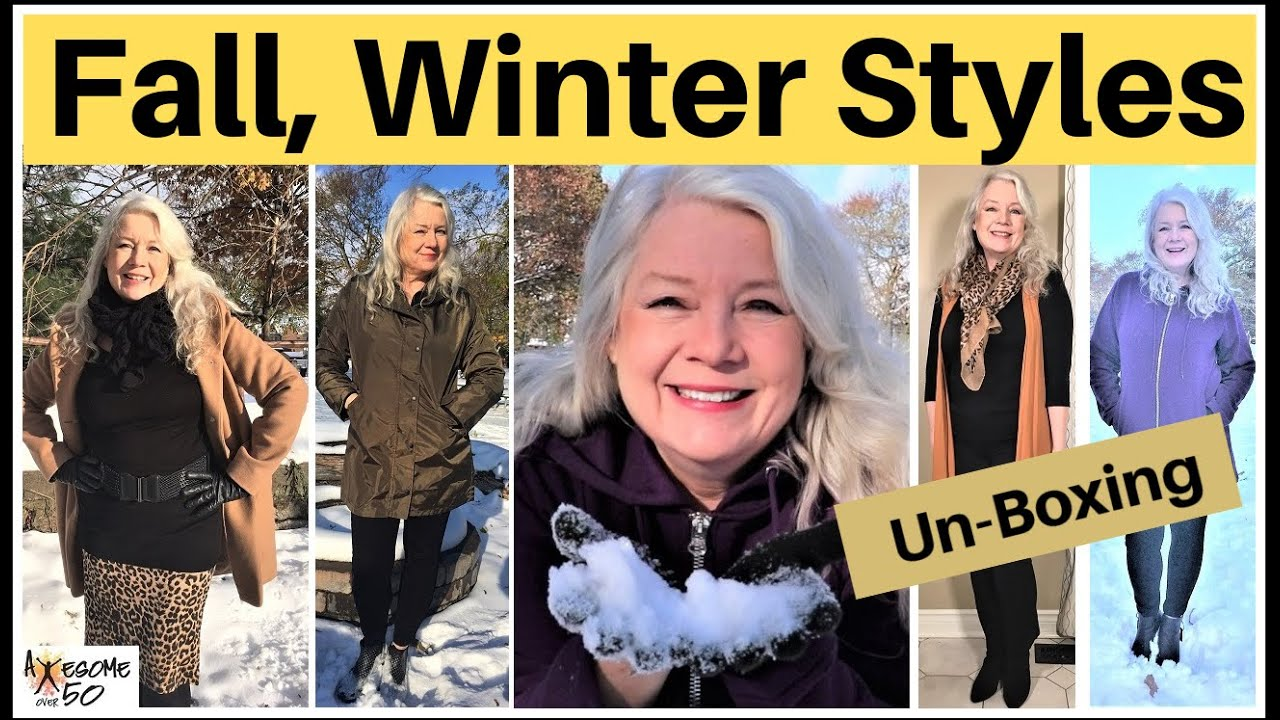 Fashion Over 50 Fall Winter Styles Youtube