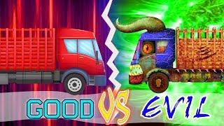 Agriculture Truck   Good Vs Evil Cartoons For Kids