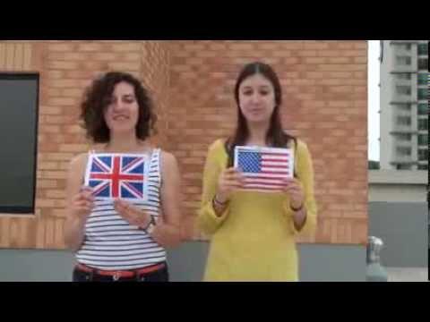 Американский и британский акцент. Разница в произношении английских слов.