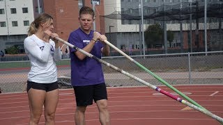 Vaulting with Maddie
