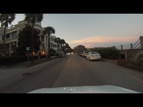 Charleston, South Carolina - Driving Around Historic Charleston HD (2017)