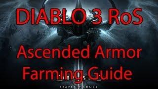 Diablo 3: RoS White Ascended Armor Farming Guide