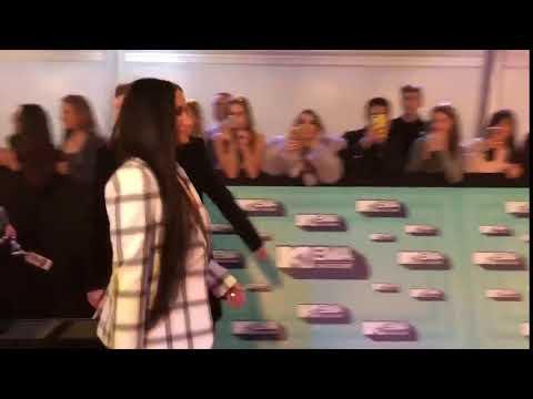 mtv ema awards 2017 Demi Lovato on the 2017 MTV European Music Awards red carpet