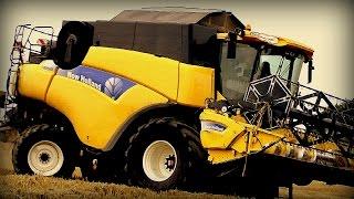 żniwa 2014 new holland cr9060 t 105 tm130 case 7140