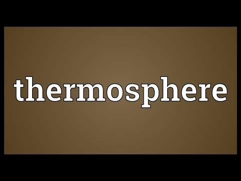 Header of thermosphere