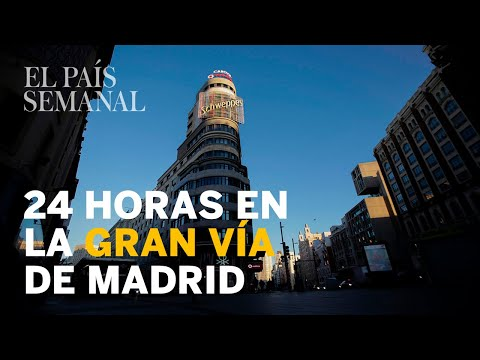 24 horas en la Gran Vía de Madrid  Reportaje  El País Semanal