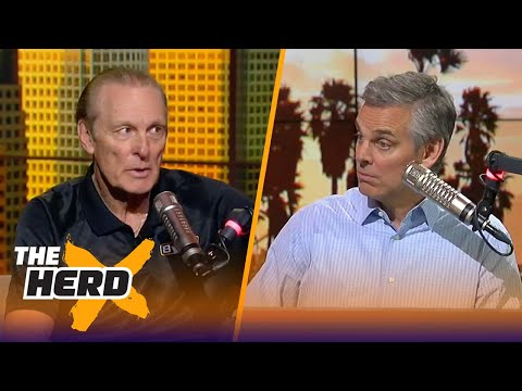 Rick Barry joins Colin Cowherd to talk Warriors ahead of the 2018 NBA Playoffs | THE HERD
