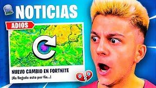 EL PRIMER CAMBIO DE EPIC GAMES EN FORTNITE 2 (actualización 11.10)