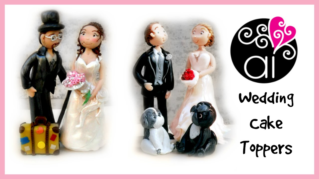 Polymer Clay Update | Wedding Cake Toppers | Gli ultimi Cake Toppers ...