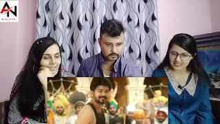 Aalaporan Thamizhan Song Reaction | Mersal  Song Reaction | Vijay, AR Rahman