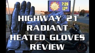 Highway 21 Radiant Heated Gloves Tests & Review : Battery Powered Winter Gear