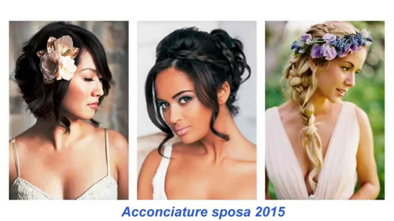 Galerry acconciature sposa youtube