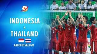 Indonesia (2) VS (4) Thailand - AFC U20 Futsal Championship 2017