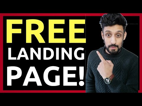 How To Create A FREE High Converting Landing Page (Step by Step 2018)