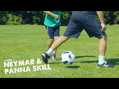 Learn Neymar move & Panna skill with Leo and STR ad